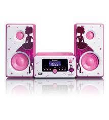 Lenco MC020Prenses Müzik Seti Bluetoothlu Radyolu USBli AlarmSaatli