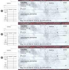 executive gray desk set checks 1 box duplicates