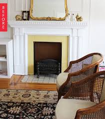 For Living Rooms With Fireplaces Fireplace Apartment Therapy