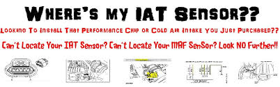 iat sensor performance chip installation procedure 2002 2003 2004 iat sensor performance chip installation procedure