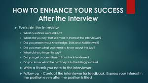How To Be Successful During A Job Interview Zara Zeitountsian