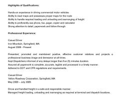 Sample Resume Truck Driver Sample Resume Truck Driver Resume