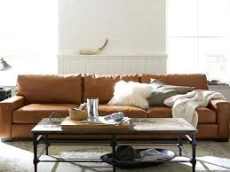 pottery barn leather sofa reviews large size of barn leather sofa reviews look alike sofas for