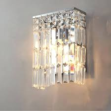 sconce crystal wall sconces for candles extraordinary crystal wall sconce long crystal shape flat box
