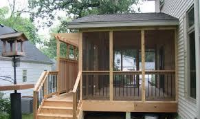 screened in deck. Deck Ideas Decks Screened Porch House Design In A