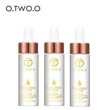 o 3pcs lot 24k rose gold elixir skin make up oil