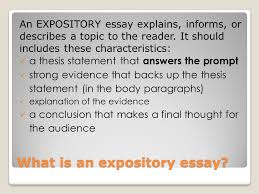 expository essay what is an expository essay an expository essay  what is an expository essay