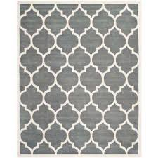 ham dark grey ivory 10 ft x 14 ft area rug