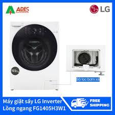 Tháng 11: Máy giặt sấy LG Inverter 10.5 kg lồng ngang FG1405H3W1 giá chỉ  18.989.000₫