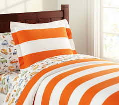 rugby stripe duvet cover pottery barn kids