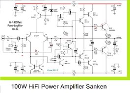 100w hifi power amplifier circuit sanken circuit diagram 100w hifi power amplifier circuit sanken circuit diagram
