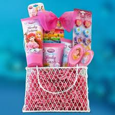 giftbasket4kids perfect birthday gift baskets for s disney princess toiletries kids gift baskets by gift