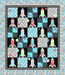 241 best Quilts - Kids images on Pinterest | Quilt patterns ... & I've been find all kinds of fun kids patterns lately, and In the  Beginning's Rocket Scientist quilt designed by Keri Beyer is no excepti Adamdwight.com