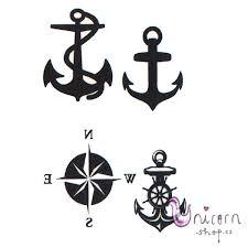 Nalepovací Tetování Kotva
