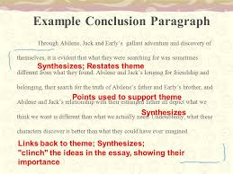 writing the comparison and contrast essay moon over manifest  36 example conclusion