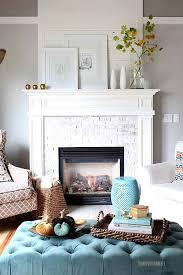 fall decorating ideas fireplace mantel 01 1 kindesign