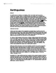 geography essay earthquakes a level geography marked by effects of earthquakes