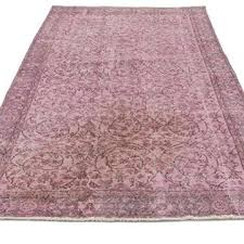 new pink vintage rug for pink over dyed vintage rug x in x in the source