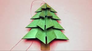 Basteln Für Weihnachten Tannenbaum Falten