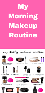 las are you struggling to put together quick and easy morning makeup routine i have here my morning makeup routine that s part of my skincare regime