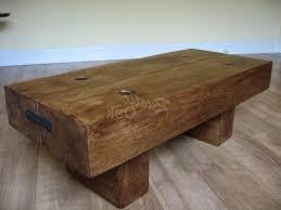 rustic oak coffee table with slate top rustic oak coffee tables beam table with waney ed