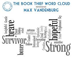 the book thief word cloud describes the character of max perfectly  the book thief word cloud describes the character of max perfectly the book thief books and book clubs