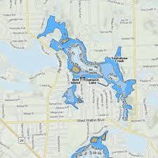 Oakland Lake Fishing Map Us_mi_63_846 Nautical Charts App
