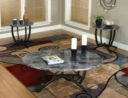 sunset trading sierra 3 piece coffee end table set