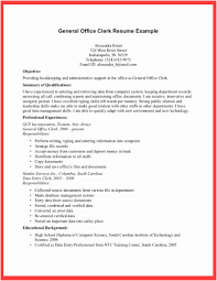 General Resume Outline Example General Resume Objectives Beautiful 10 Best Of