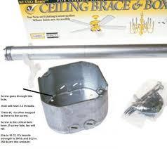 ceiling fan box doityourself