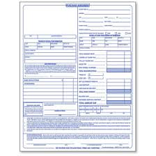 Purchase Agreement Vehicle Auto Dealer Forms Vehicle Appraisal Forms Car Bill Of Sale Forms