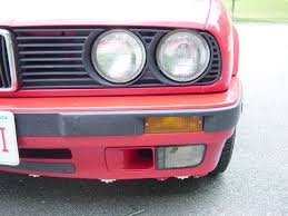 Driver Side Fog Light Cover Replacement 1991 Bmw 318i E30 M42 Foglight Lens Replacement Diy By