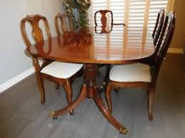 queen anne dining room table. queen anne dining room set solid cherry table