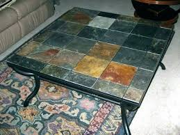 contemporary stone top end tables faux tile slate coffee home styles turn to table reviews en