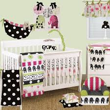 hottsie dottsie 7pc crib bedding set