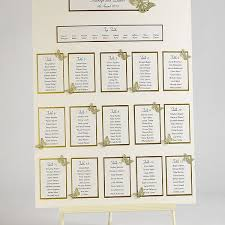 Butterfly Wedding Table Plan Seating Kit A2