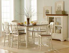 homelegance ohana counter height dining set white 800 00
