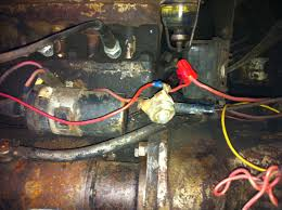 apes rewired my to 30 harry ferguson forum yesterday s tractors not sure what the thing in the middle of the pic is is that a ballast resistor i thought be a 12v to 6v voltage reducer but it has 12 on each