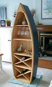 bookcase 6 ft boat wine rack glass holder shelf by