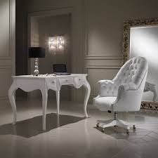 luxury office chair. luxury italian white leather swivel office chair p