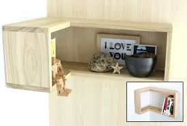 how to make a floating corner shelf within shelves designs wood solid