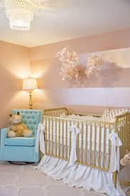 sophie s pink and gold nursery