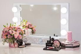 vanity girl hollywood starlet lighted vanity mirror gloss white