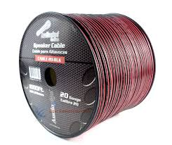 20 gauge 1000 039 speaker zip wire copper clad red black 12 volt 20 gauge 1000 speaker zip wire copper clad red black 12 volt audio cable