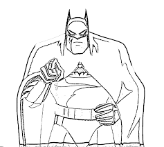 Small Picture Easy Batman Coloring Pages Coloring Coloring Pages