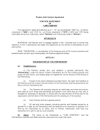 Joint Venture Agreement Doc | Legal | Pinterest | Joint venture