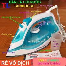 Bàn là hơi nước SUNHOUSE SHD2065,Bàn ủi hơi nước chính hãng 229,000đ