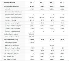 Reading The Cash Flow Statement Palo Alto Software