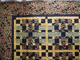 Types of Quilting - AndiCraftsAndiCrafts & One quilting design covers the entire quilt top, without regard to the  piecing or applique elements. This is suitable for quilts which will be  used and ... Adamdwight.com