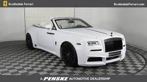 2016 Used Rolls Royce Dawn 2dr Convertible At Tempe Honda